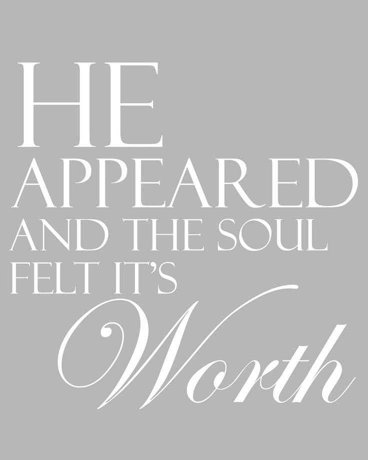 (Him ღ) A thrill of HOPE, the weary soul rejoices, for