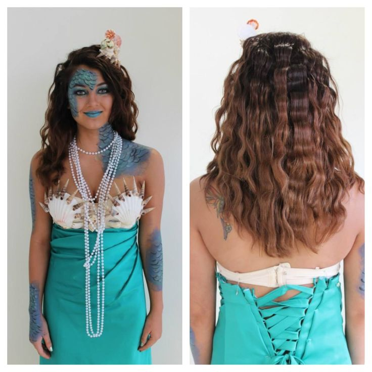 45 Best Images About Mermaid Costume On Little  sc 1 st  Makeupview.co : mermaid costume diy  - Germanpascual.Com