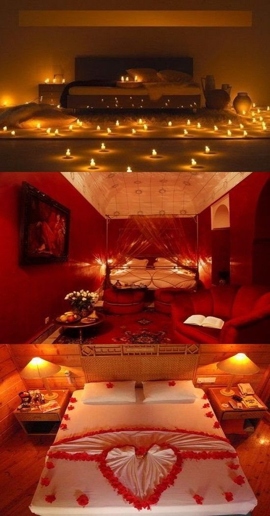 Romantic Valentines Day Bedroom Decorations For More Go