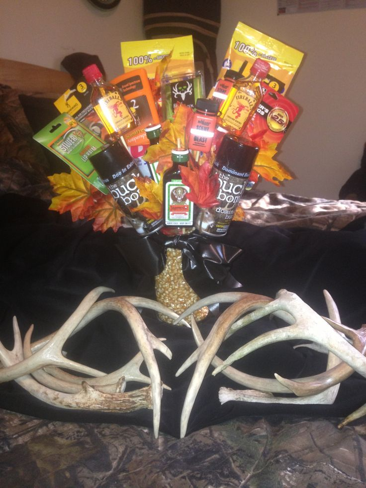 Hunting Season Eve Man Bouquet !! Gifts Pinterest
