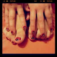 17 Best images about Girls nail design on Pinterest