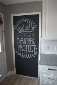 25+ Best Ideas about Chalkboard Pantry Doors on Pinterest ...