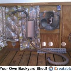 Wiring Diagram For Electric Fan Marvelous Ideas Of How Sound Travels Generator Shed Enclosure Exhaust Setup.   Plans Pinterest Sheds, Photo ...
