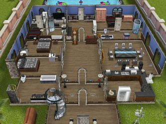 sims freeplay plan houses plans open sim floor play wealthiest homes lives blueprints discover
