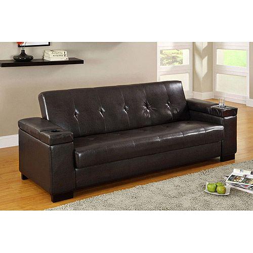 walmart futons   Futon with Storage at Walmartcom Save money Live better  2nd br game