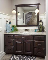 25+ best ideas about Dark Vanity Bathroom on Pinterest