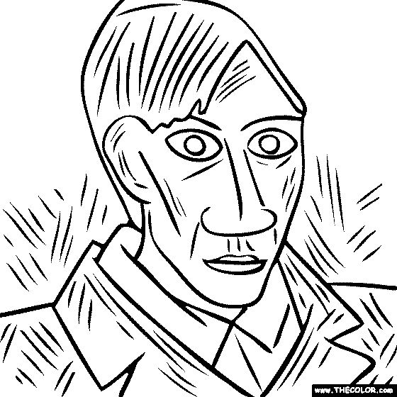 17 Best ideas about Picasso Self Portrait on Pinterest