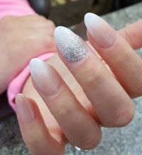 25+ best ideas about Long Oval Nails on Pinterest   Oval ...