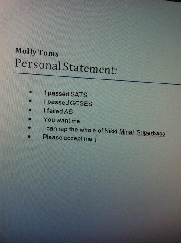 25 Best Images About Personal Statement Sample On Pinterest
