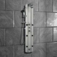 Thermostatic Multi Function Shower Tower Panel System with ...