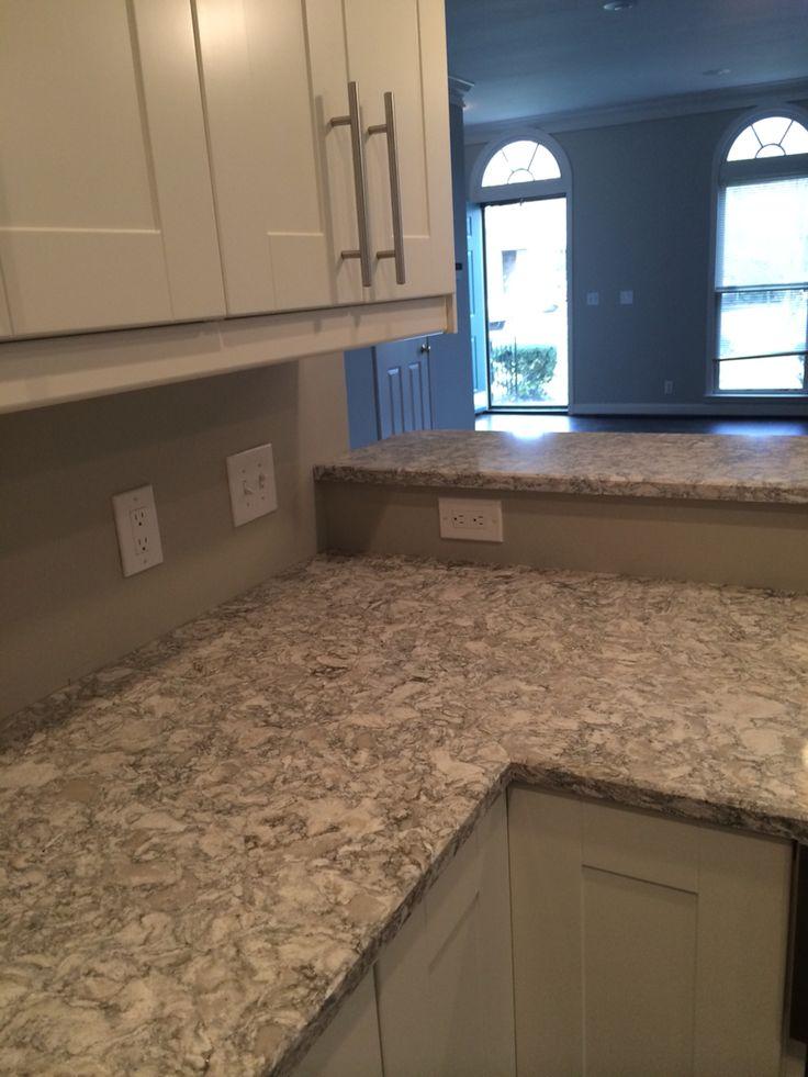 Perfect neutral quartz as alternative to marble  Cambria