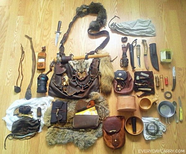 The Mountain Man's EDC (Every Day Carry) Survival Kit: The ...