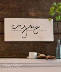 25+ best ideas about Painted Wooden Signs on Pinterest ...