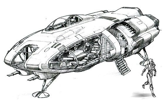 1421 best images about Spaceships etc on Pinterest