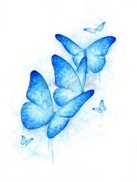 25+ best ideas about Blue Butterfly Tattoo on Pinterest ...