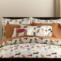 Dog Themed Bedding Set from The Company Store | Dog Home ...
