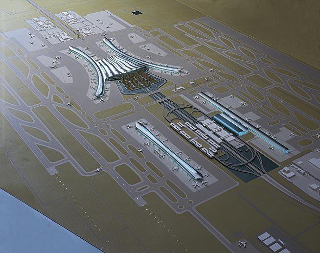 Shanghai Pudong Airport Expansion Proposal Airports