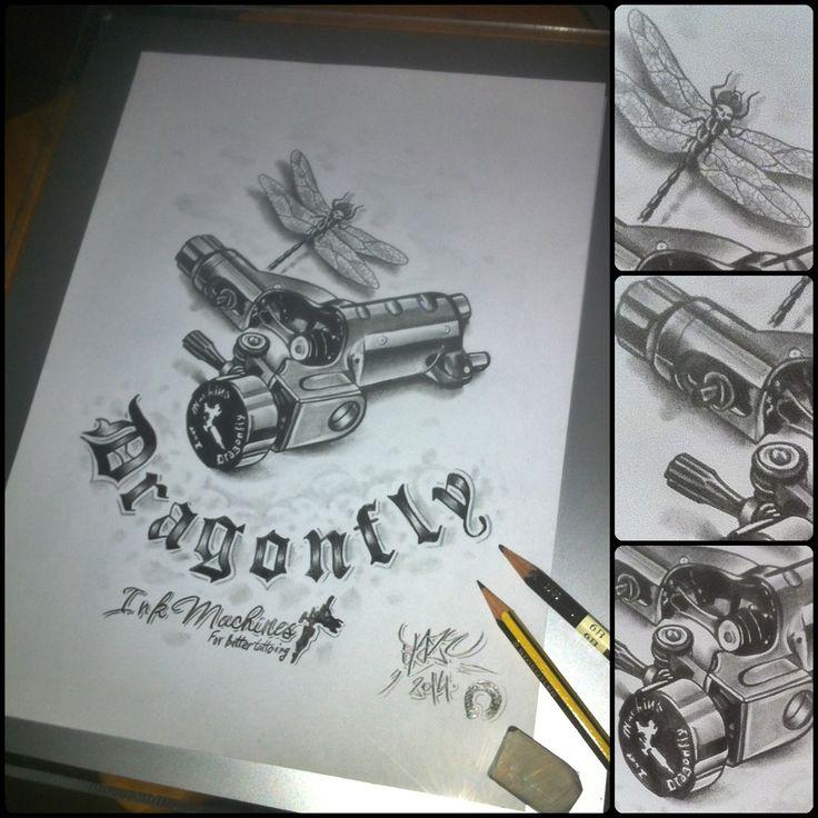 Top Tattoo Gun Setup Diagram Images For Pinterest Tattoos