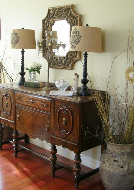 17 best ideas about Antique Sideboard on Pinterest  Antique buffet Dining room sideboard and