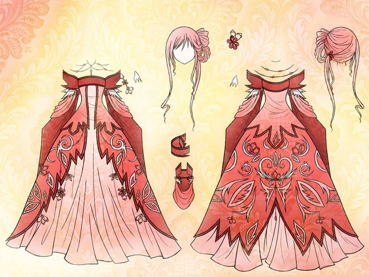 12 Best Images About Anime Dresses On Pinterest