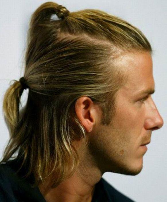 David Beckham    Men Long Hair   Pinterest