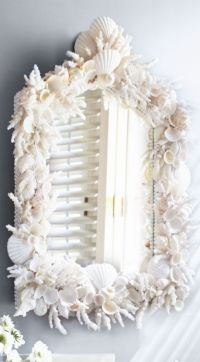 25+ best ideas about Sea shell mirrors on Pinterest