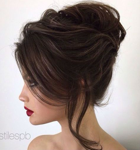17 Best ideas about French Twist Hair on Pinterest