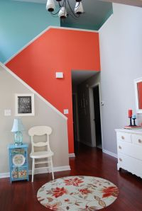 25+ best ideas about Coral accent walls on Pinterest