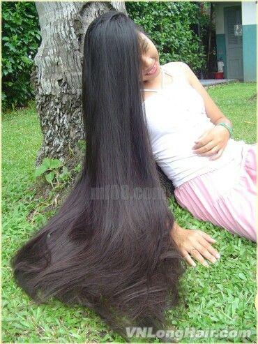 Very Long Hair Vietnam LH Pinterest Cabelo Muito