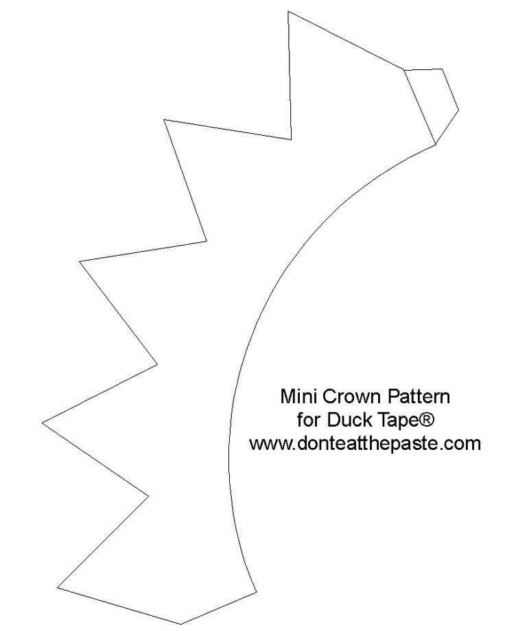 17 Best ideas about Crown Template on Pinterest