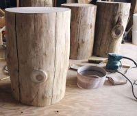 25+ Best Ideas about Tree Stump Table on Pinterest