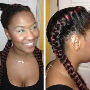 big braids cornrows hairstyle