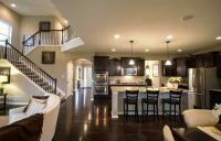 Nice openness kitchen living room dining room combo ...