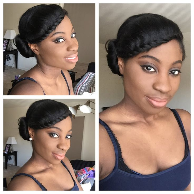 258 Best Images About Relaxed Hairstyles On Pinterest Healthy