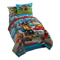 Paw Patrol No Pup Too Small Twin Comforter Set