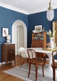 25+ best ideas about Blue Dining Rooms on Pinterest | Blue ...