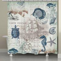 Best 25+ Nautical shower curtains ideas on Pinterest ...