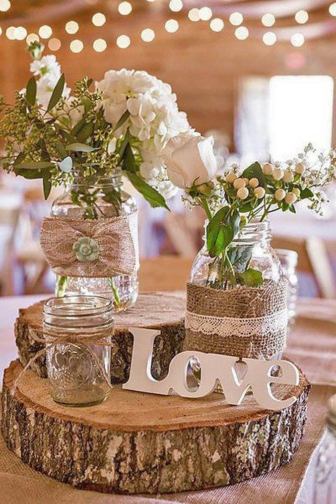 Best 25 Rustic Wedding Decorations ideas on Pinterest  Wedding rustic Country wedding