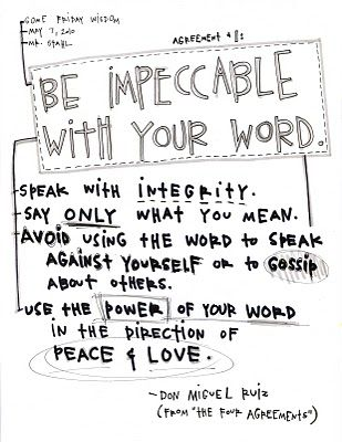 17+ best ideas about The Four Agreements on Pinterest