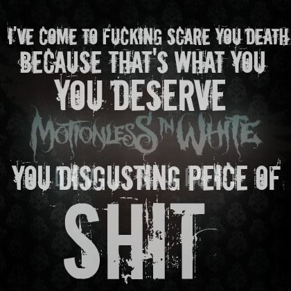 Falling In Reverse Wallpaper Lyrics Motionless In White Quotes Quotesgram