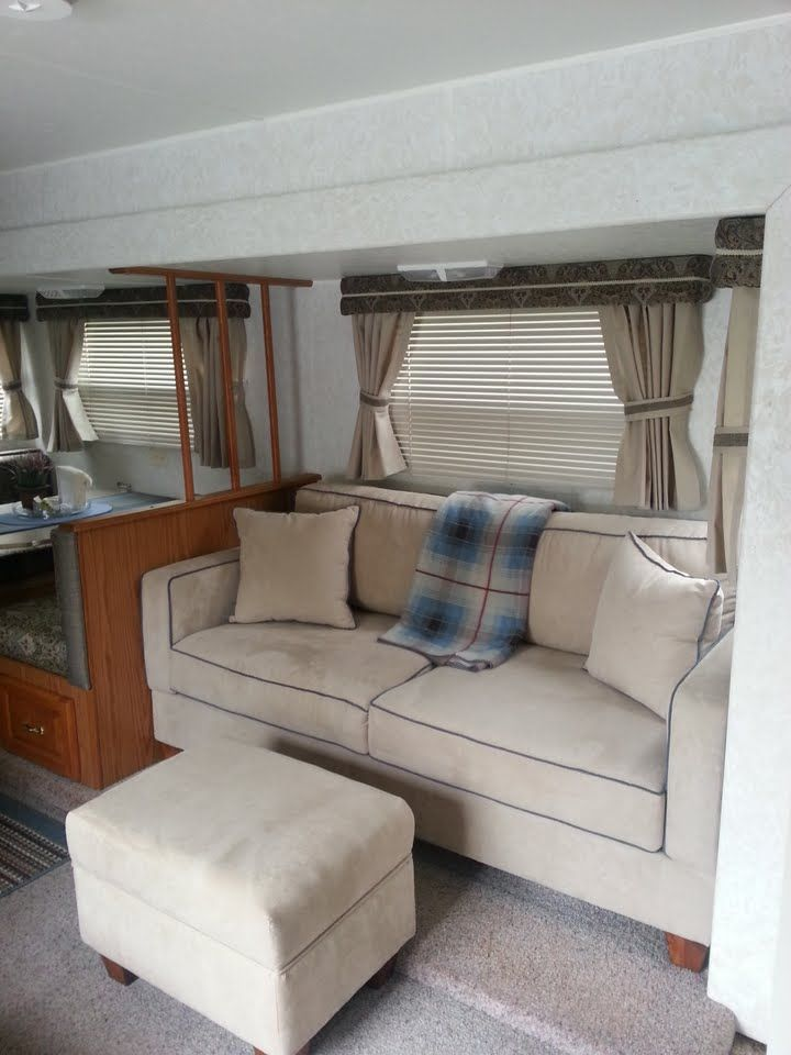 sofa tiny doorway bobkona 2 piece and loveseat set 17 best ideas about jayco campers on pinterest   vintage ...