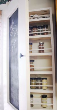 Cabinet Spice Rack Plans - WoodWorking Projects & Plans
