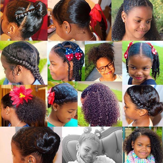 Hairstyle Hairstyles For African American Little Girls Cute