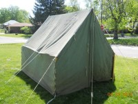 Canvas used boy scout tent | Canvas material, Canvases and ...