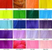 kanekalon silky straight color