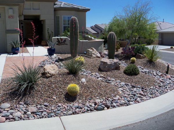 17+ best ideas about Arizona Landscaping on Pinterest