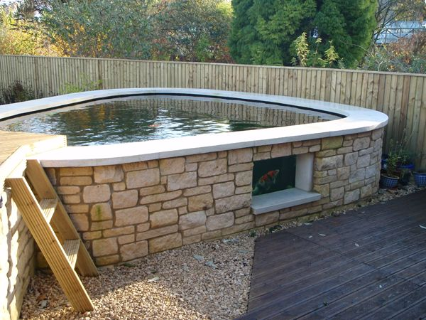The 25 Best Ideas About Above Ground Pond On Pinterest Fish