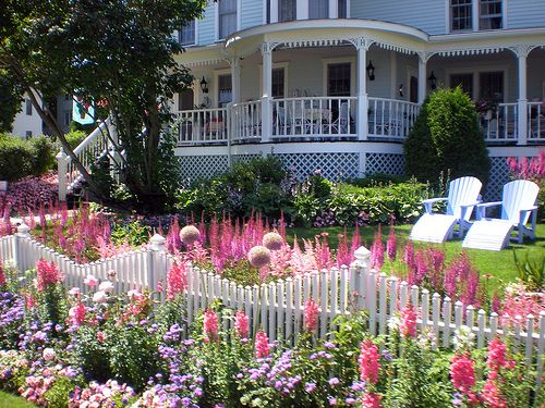 146 Best Images About Picket Fence Gardens On Pinterest Arbors