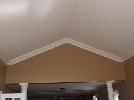 46 best images about Crown molding on vaulted ceiling. on