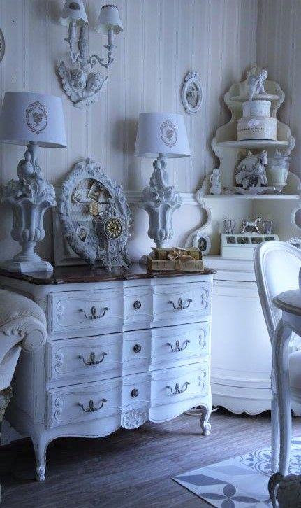 1000 ideas about Shabby Chic Dressers on Pinterest